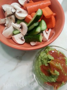 Veggies + Guacamole
