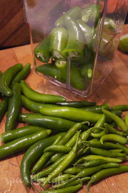 Chilies to Blender